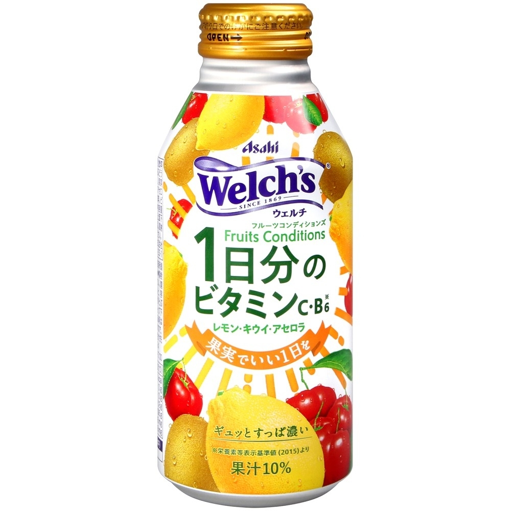 ASAHI Welchs一日分綜合果汁飲料(400g)