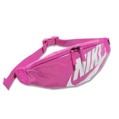 Nike 腰包 Heritage Hip Pack 女款 斜背包 外出 輕便 小包 手機包 穿搭 粉 白 CK7914601