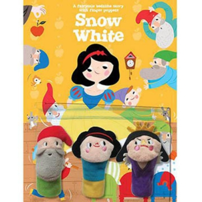 Snow White 睡前故事:白雪公主指偶書