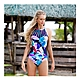 澳洲Sunseeker泳裝機能型系列削肩鋼圈魔術罩杯連身式三角泳裝-8190057NAV product thumbnail 1