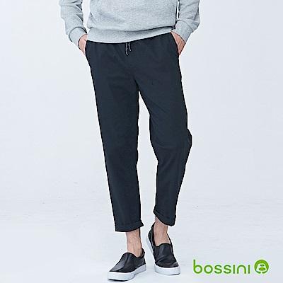 bossini男裝-潮流及踝褲03黑