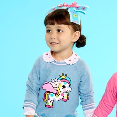 WHY AND 1/2 mini 亮蔥棉質萊卡T恤 1Y~4Y
