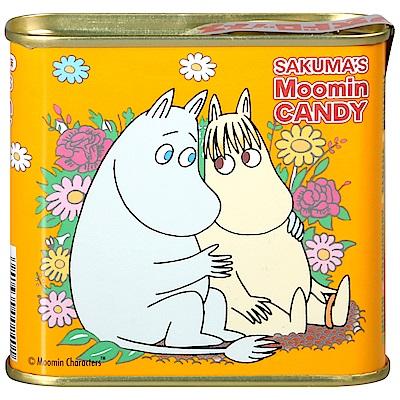 佐久間製果 嚕嚕米水果牛奶風味糖罐(70g)
