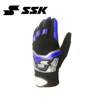 SSK   打擊手套    單支   黑/寶藍   BG702-9063