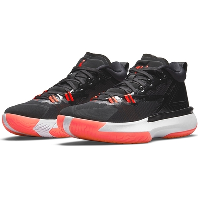 NIKE 籃球鞋  運動鞋 包覆 緩震 喬丹 男鞋 黑紅 DA3129006 JORDAN ZION 1 PF