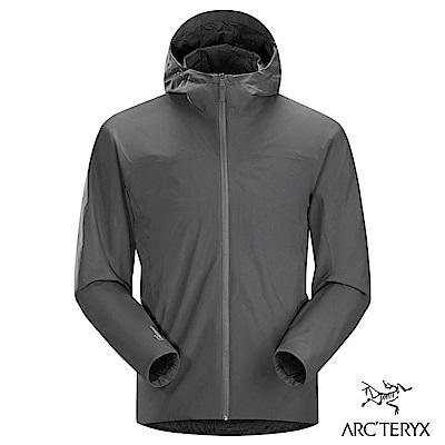 Arcteryx 24系列 男 Solano軟殼 防風 透氣 刷毛外套 機長灰