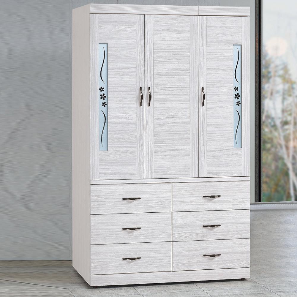 AS-安尼4x7尺衣櫃-120x57x197cm