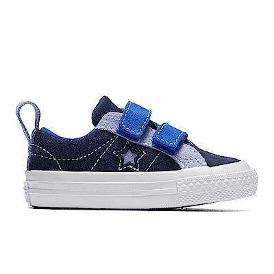 CONVERSE-ONE STAR童鞋-藍