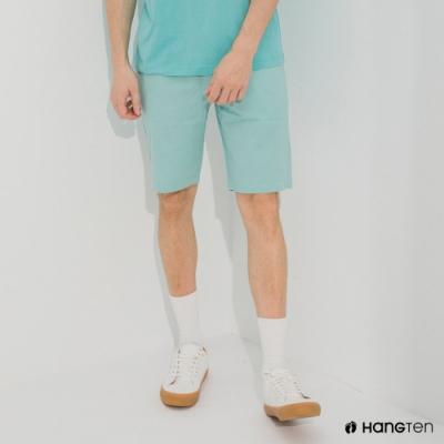 Hang Ten-男裝-REGULAR FIT經典彈性短褲-薄荷綠