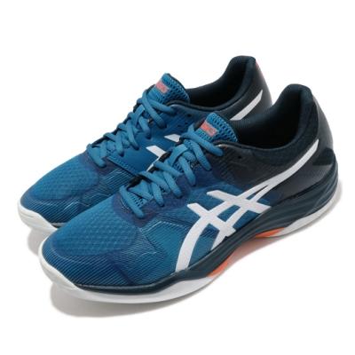Asics 排球鞋 Gel-Tactic 運動 男鞋 亞瑟士 多功能室內運動鞋 吸震 回彈 藍 白 1071A031402