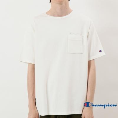 Champion Campus口袋短Tee 白色