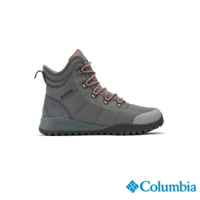 Columbia 哥倫比亞 男款-Omni-TECH 防水保暖雪靴-深灰 UBM28060DY
