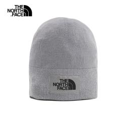 The North Face北面男女款灰色保暖透氣針織毛帽|3FH1V3T