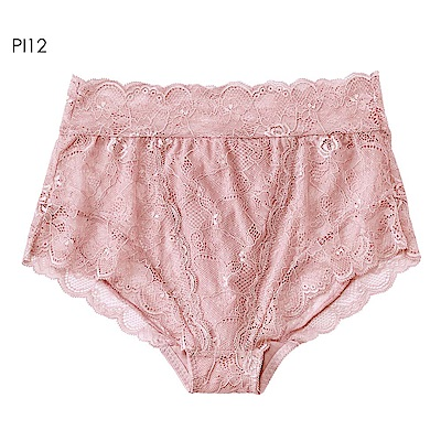 aimerfeel 後背編織高腰內褲-珊瑚粉紅色-958921-PI12