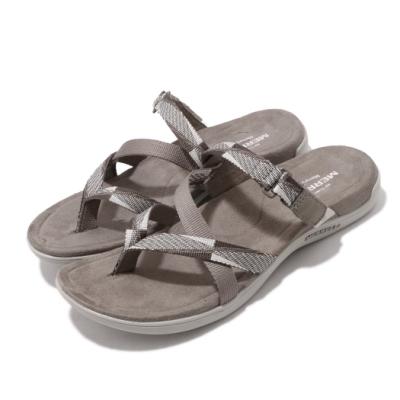 Merrell 拖鞋 District Mendi Thong 女鞋 夾腳拖 夏日 涼爽 透氣 麂皮 棕 ML000102