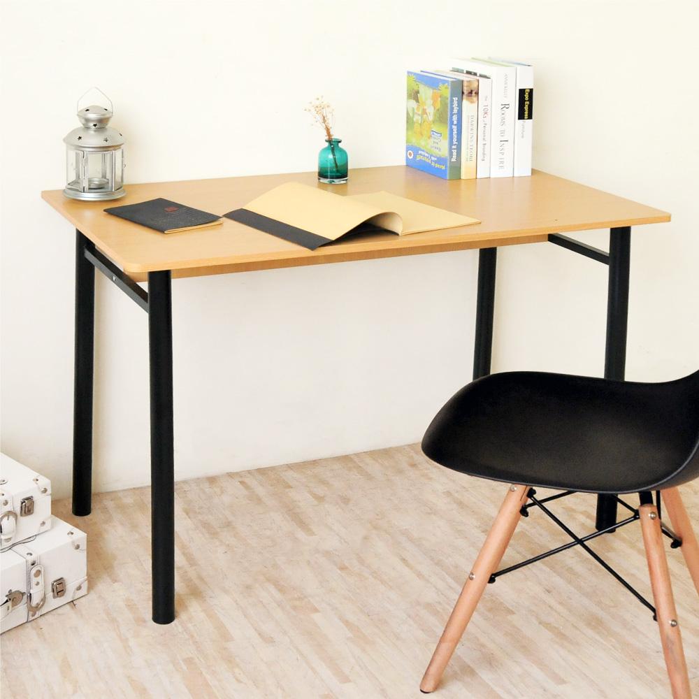 《HOPMA》DIY巧收圓腳工作桌/書桌-寬105 x深54 x高74.5cm product image 1