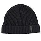 BURBERRY 羊毛材質針織毛帽(黑)