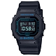 G-SHOCK 絕對強悍質感霧面黑方形電子錶-藍字(DW-5600BBM-1)/42.8mm product thumbnail 1