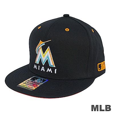 MLB-馬林魚可調式棒球帽