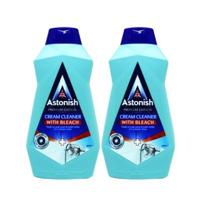 Astonish英國潔 即期-強效去汙浴廁清潔乳2瓶組(500mlx2)
