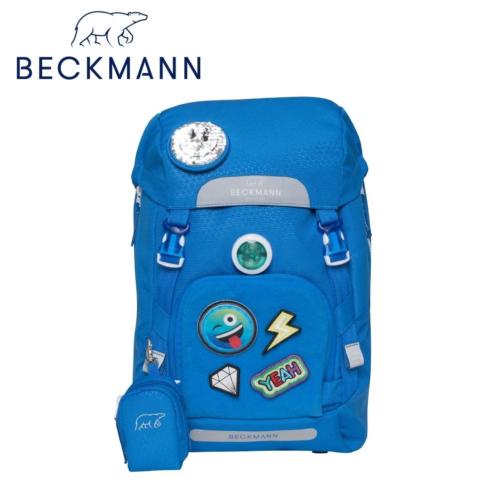 Beckmann-兒童護脊書包22L-閃亮布章