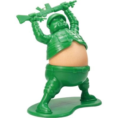 《KitchenCraft》Fred造型蛋杯(綠士兵)