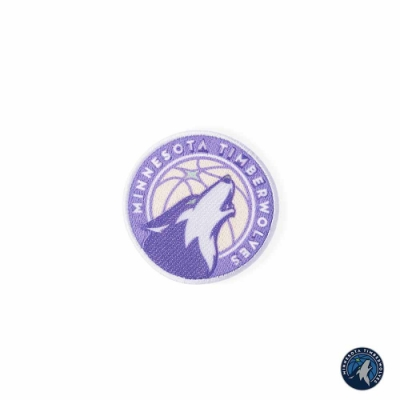NBA Store X CiPU聯名刺繡貼 灰狼隊