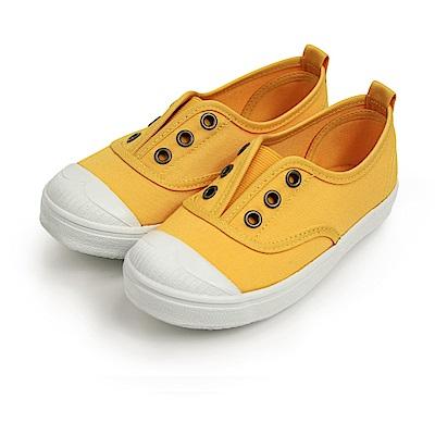 BuyGlasses 可愛俏皮鬆緊懶人鞋-黃
