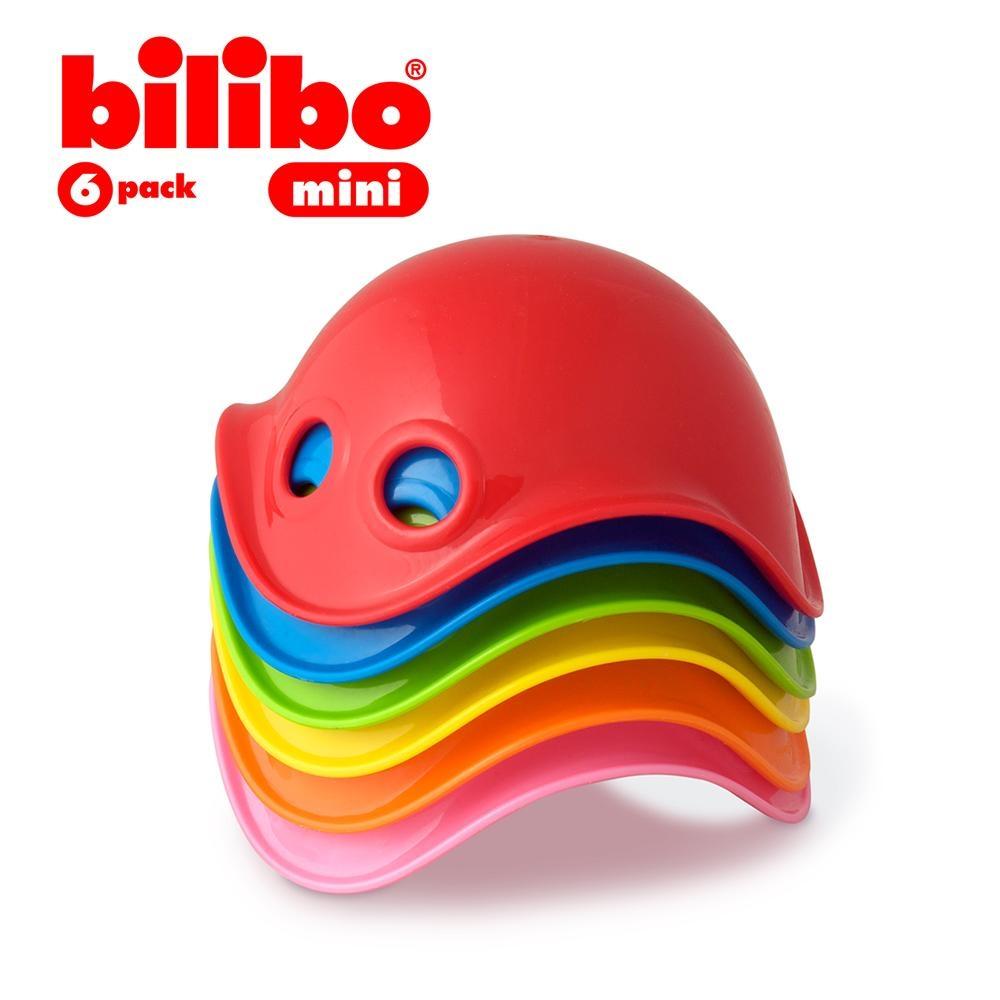 【MOLUK】瑞士創意玩具 - Bilibo創意轉轉樂/小(6入組)