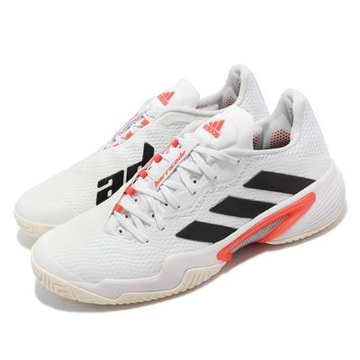 adidas 網球鞋 Barricade M 運動 男鞋 愛迪達 避震 包覆 穩定 支撐 訓練 白 黑 FZ3935
