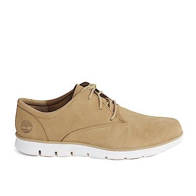 Timberland 男款淺咖啡色絨面皮革淺口鞋 | A1ONVK38
