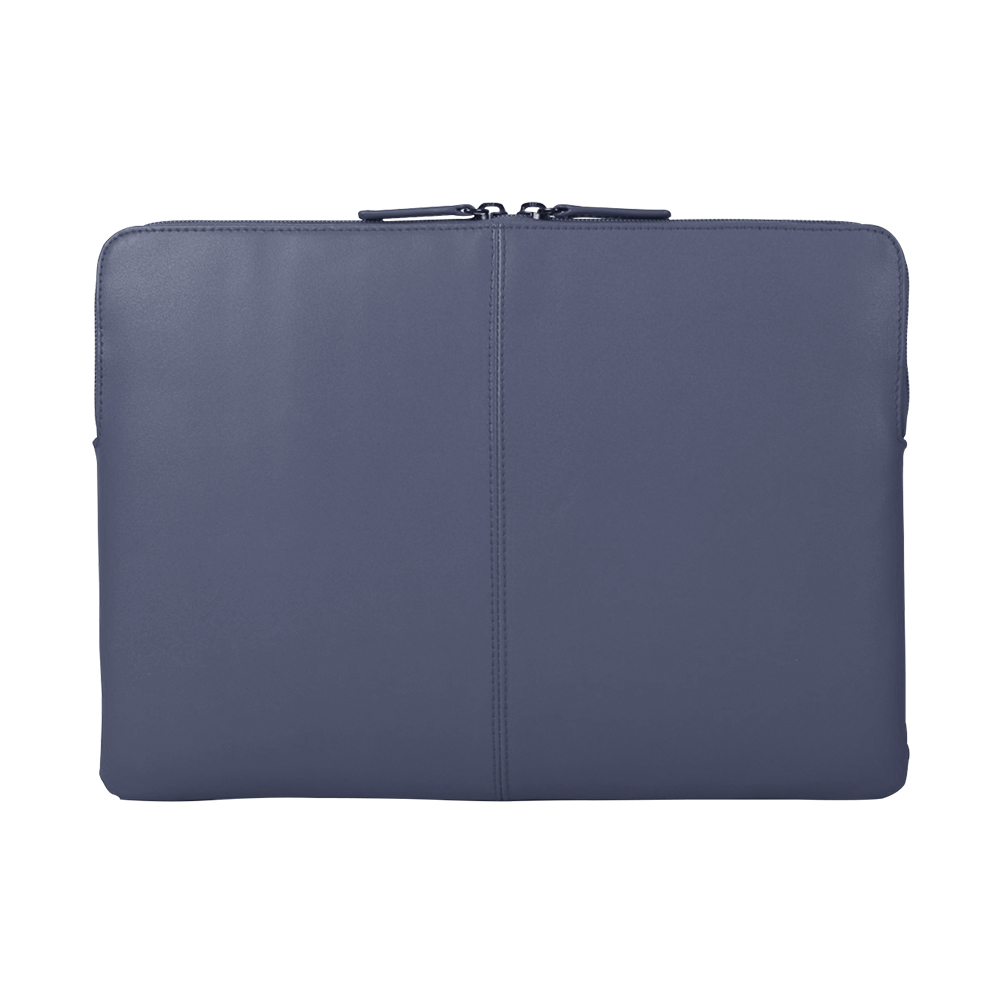 TUCANO Macbook 13吋義大利真皮極簡內袋Pregio-藍色