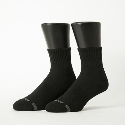 Footer除臭襪-單色運動逆氣流氣墊襪(男襪-T11)
