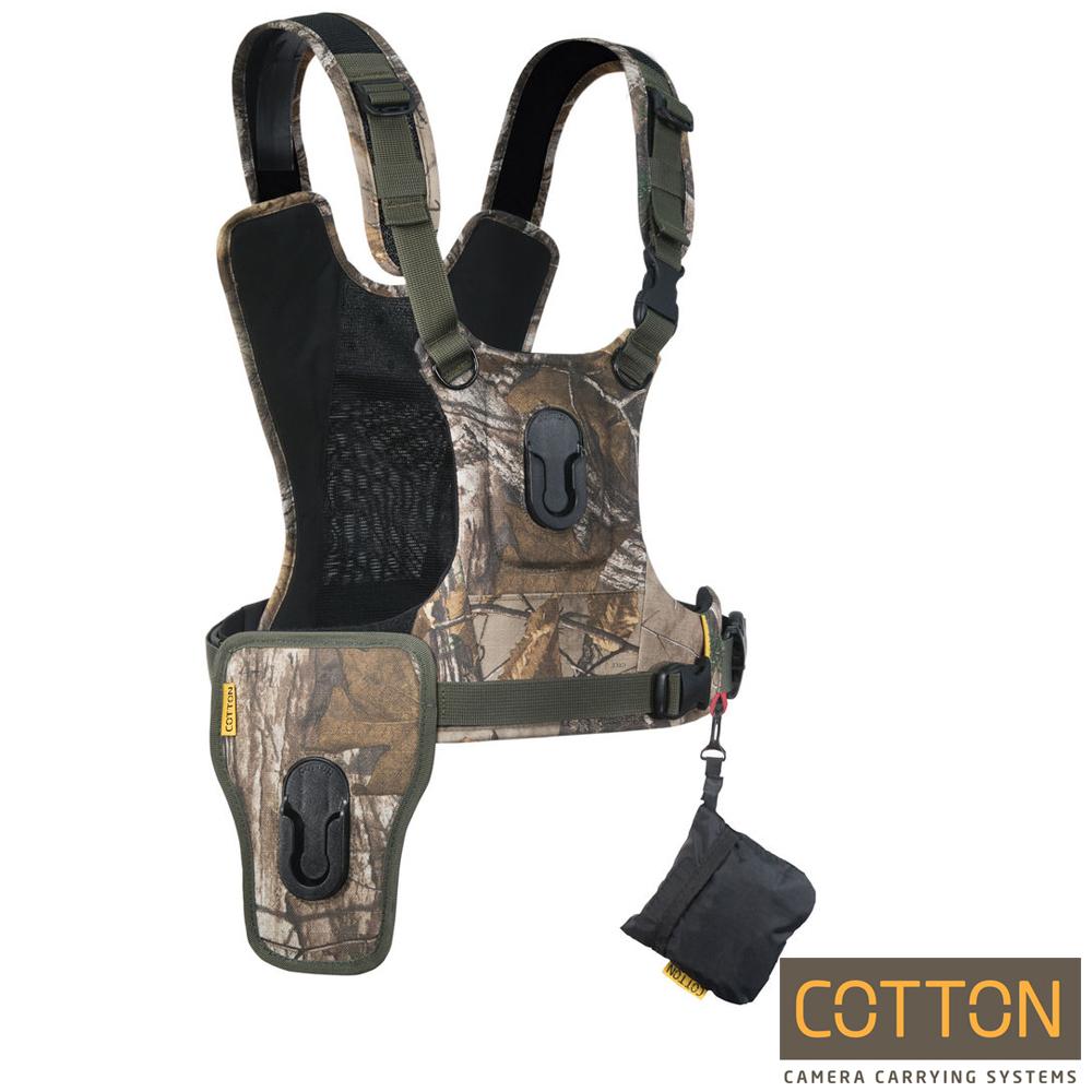 Cotton Carrier  CCS G3 快取攝影背心-HARNESS-雙機(迷彩)