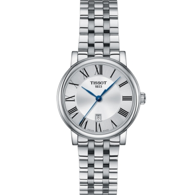 TISSOT T-Classic 都會品味女錶(T1222101103300)