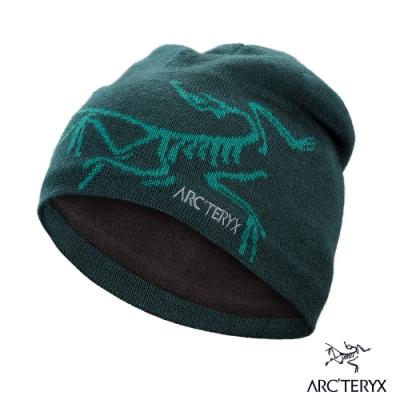Arcteryx 始祖鳥 Bird Head 保暖針織羊毛毛帽 迷惑藍/尤根綠