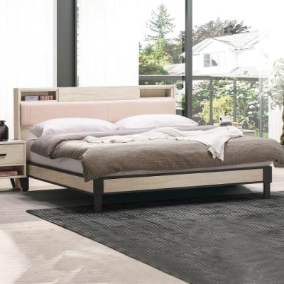 H&D 芮歐白象6尺床片型床台