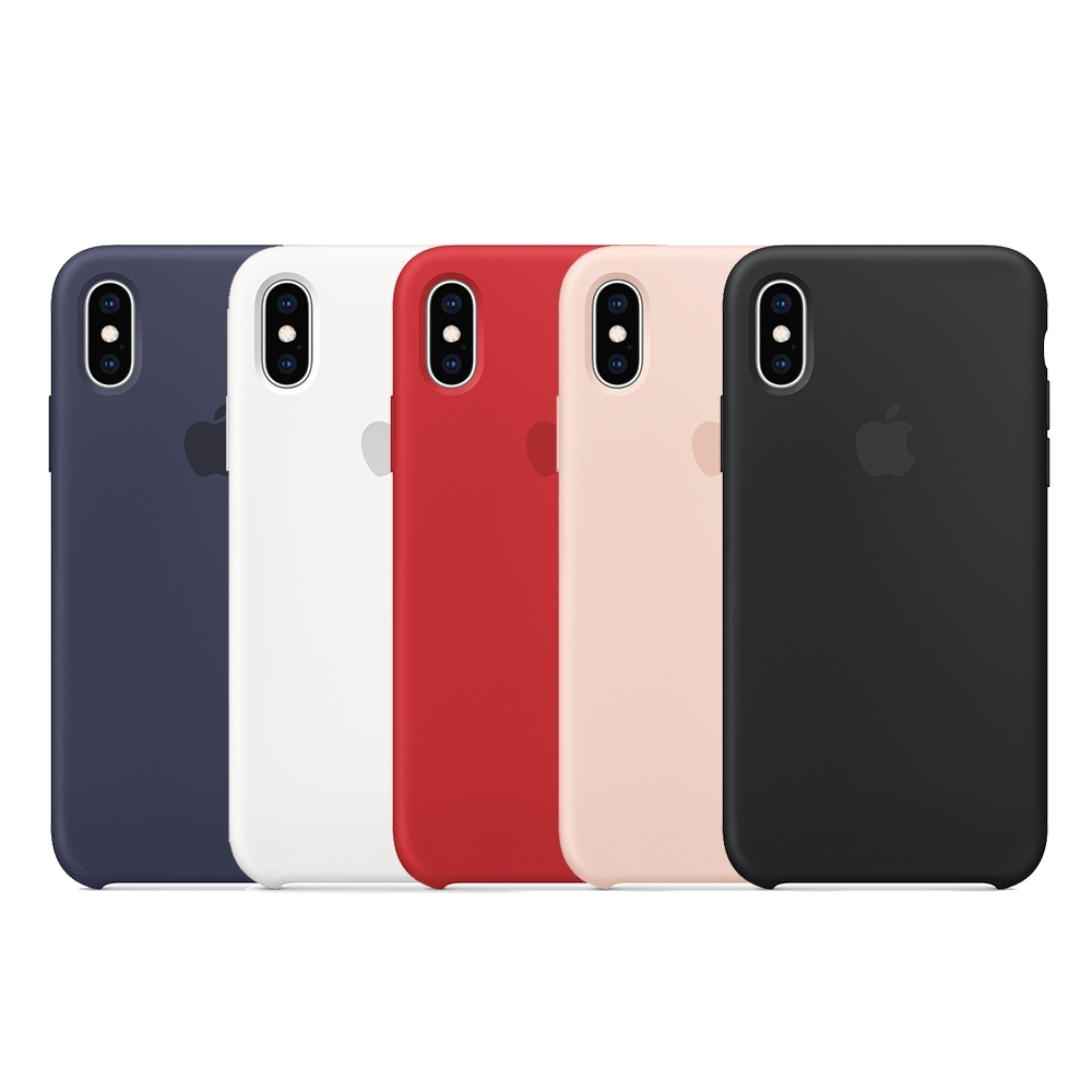 Apple 原廠 iPhone X 矽膠保護殼 (台灣公司貨)