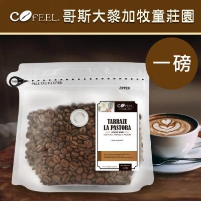 CoFeel 凱飛鮮烘豆哥斯大黎加牧童莊園中烘焙咖啡豆一磅