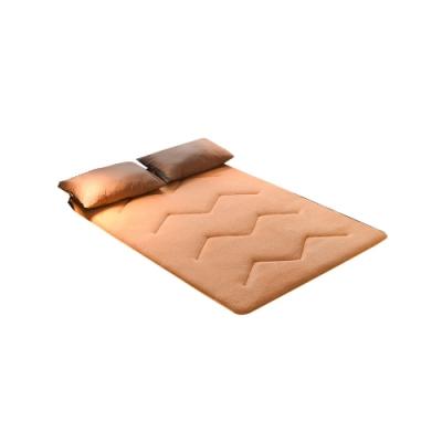 Effect 柔軟親膚-羊羔絨保暖日式床墊(雙人加大/2色可選)