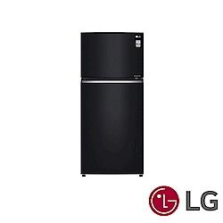 [無卡分期12期] LG樂金 525L 1級變頻2門電冰箱 GN-HL567GB 曜石黑