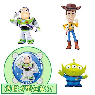 【SEGA】日版 景品 玩具總動員 透明球 公仔 胡迪 巴斯光年 三眼怪