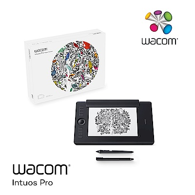 Wacom Intuos Pro Medium 雙功能創意觸控繪圖板