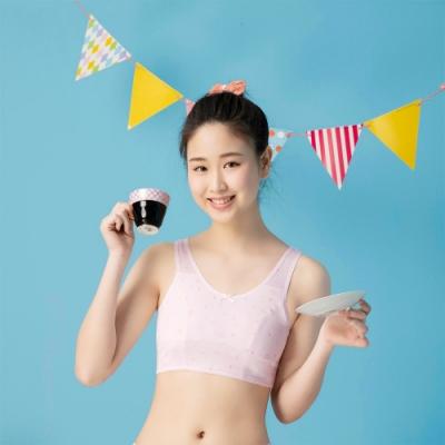 嬪婷 學生 ACE ICE纖維系列 S-LL第一階段內衣(柔和粉) 專利新型號 涼伴好伸展 觸感優透氣佳
