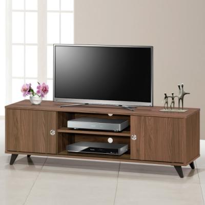Homelike 希特爾5尺滑門電視櫃(二色)-148x40x47cm