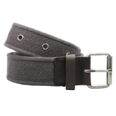CH-BELT浪漫紫色純棉鉚釘織帶腰帶皮帶(紫)