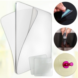 EZlife透明雙面無痕強力貼10片
