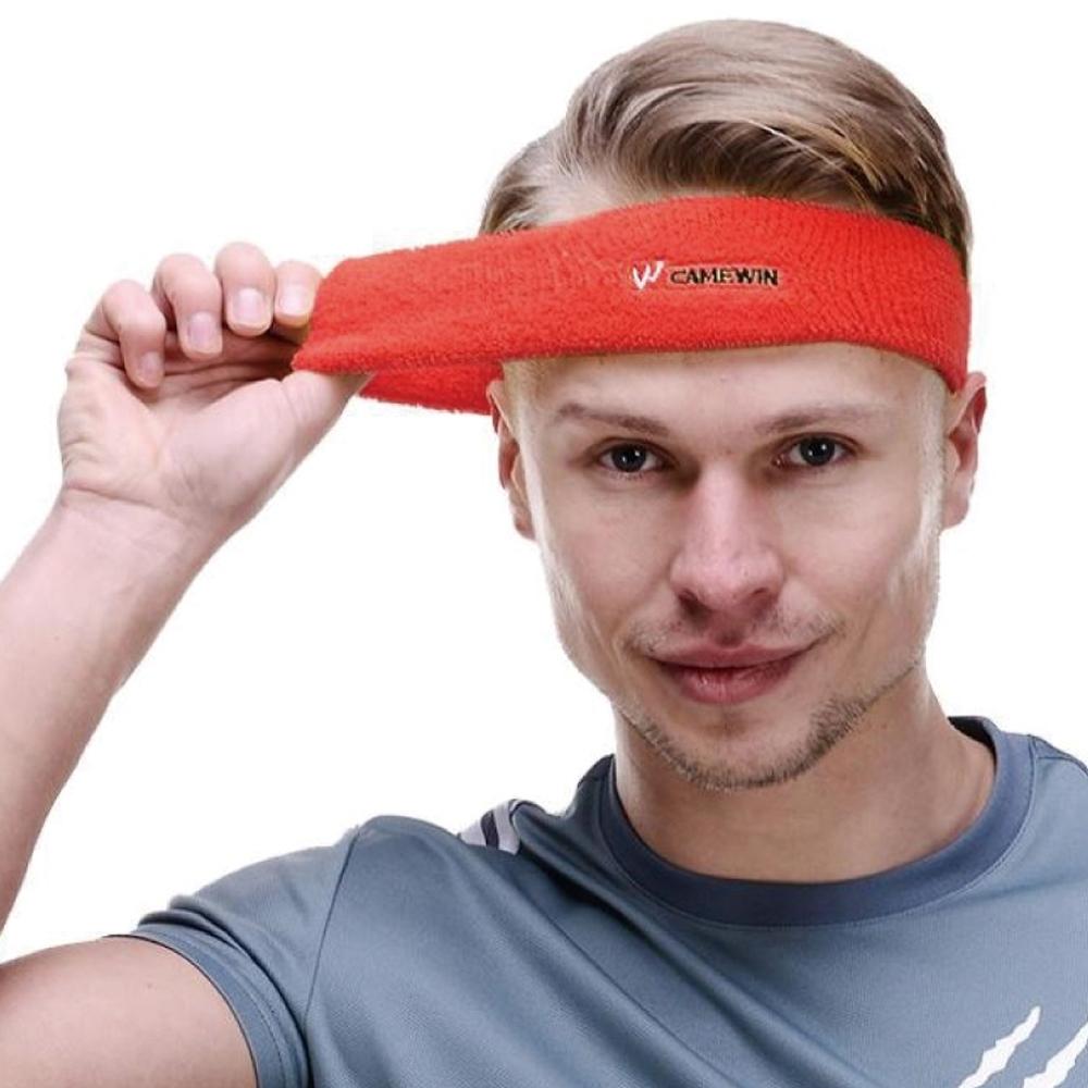 凱威KW013運動純棉止汗吸汗頭帶.跑步單車籃球透氣彈力通用排導吸汗頭巾運動頭帶束髮