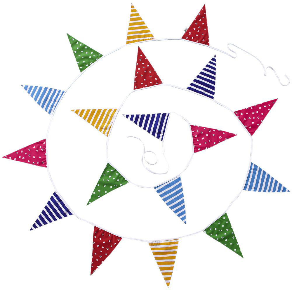 JAKO-O 德國野酷 繽紛花樣三角旗幟(聚會派對/兒童派對慶祝)