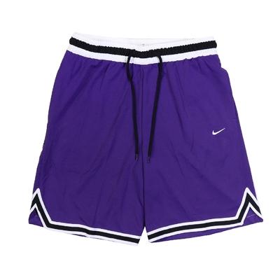 Nike 短褲 Basketball Shorts 男款 Dri-FIT 吸濕排汗 輕量 通風 抽繩 紫白 DA5845-548